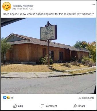Joy Luck House -Facebook Post