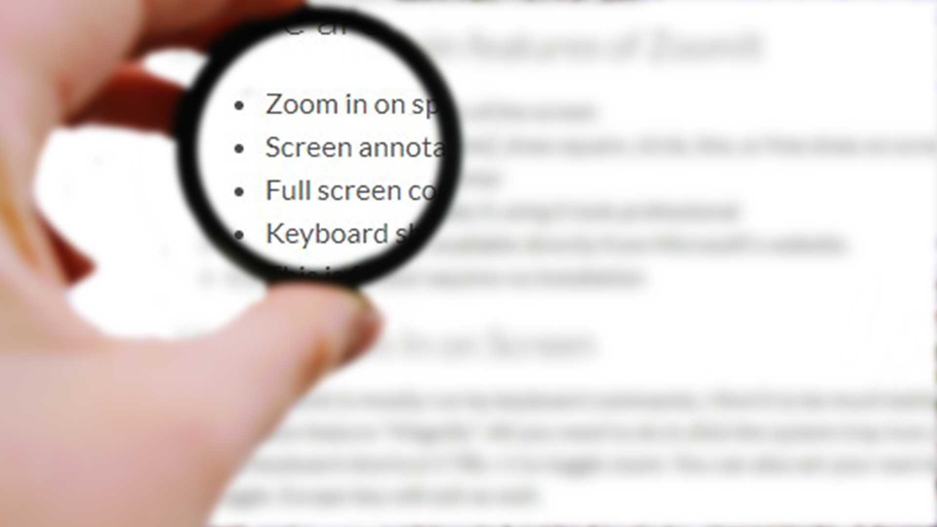 Zoom In On Screen and Annotate with This Free Presentation Software